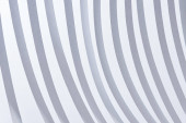 close up view of paper stripes isolated on white
