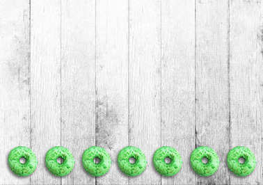 sweet and delicious donuts with various polewami is the perfect snack for asuchw, mandatory product any good shop