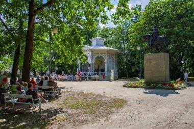 Music pavilion - Frantiskovy Lazne (Franzensbad) - Czech Republic
