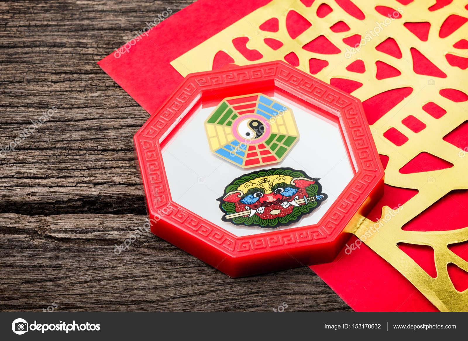 Spiegel Feng Shui feng shui bagua spiegel stockfoto norgallery 153170632