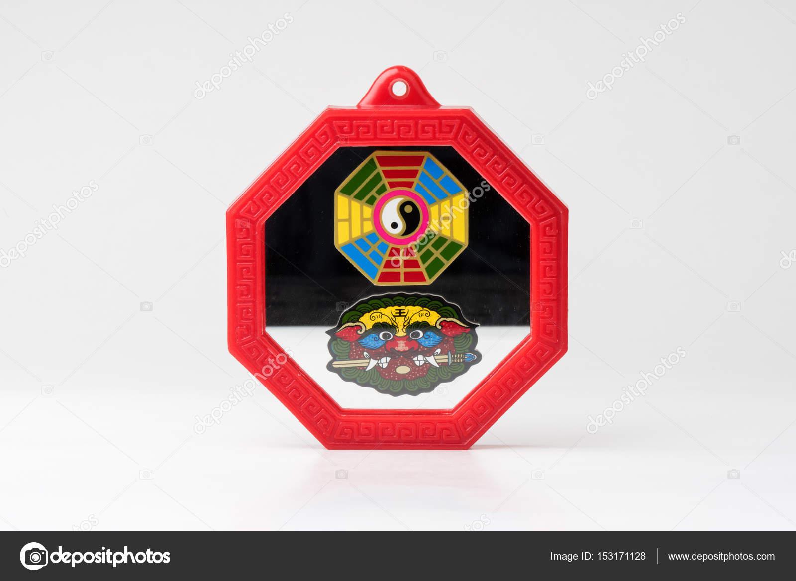 Feng Shui Bagua Spiegel Stockfoto C Norgallery 153171128