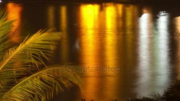 night water sunset timelapse