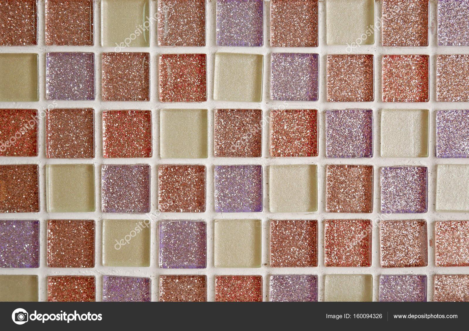 Struttura delle mattonelle di colore dolce glitter u foto stock