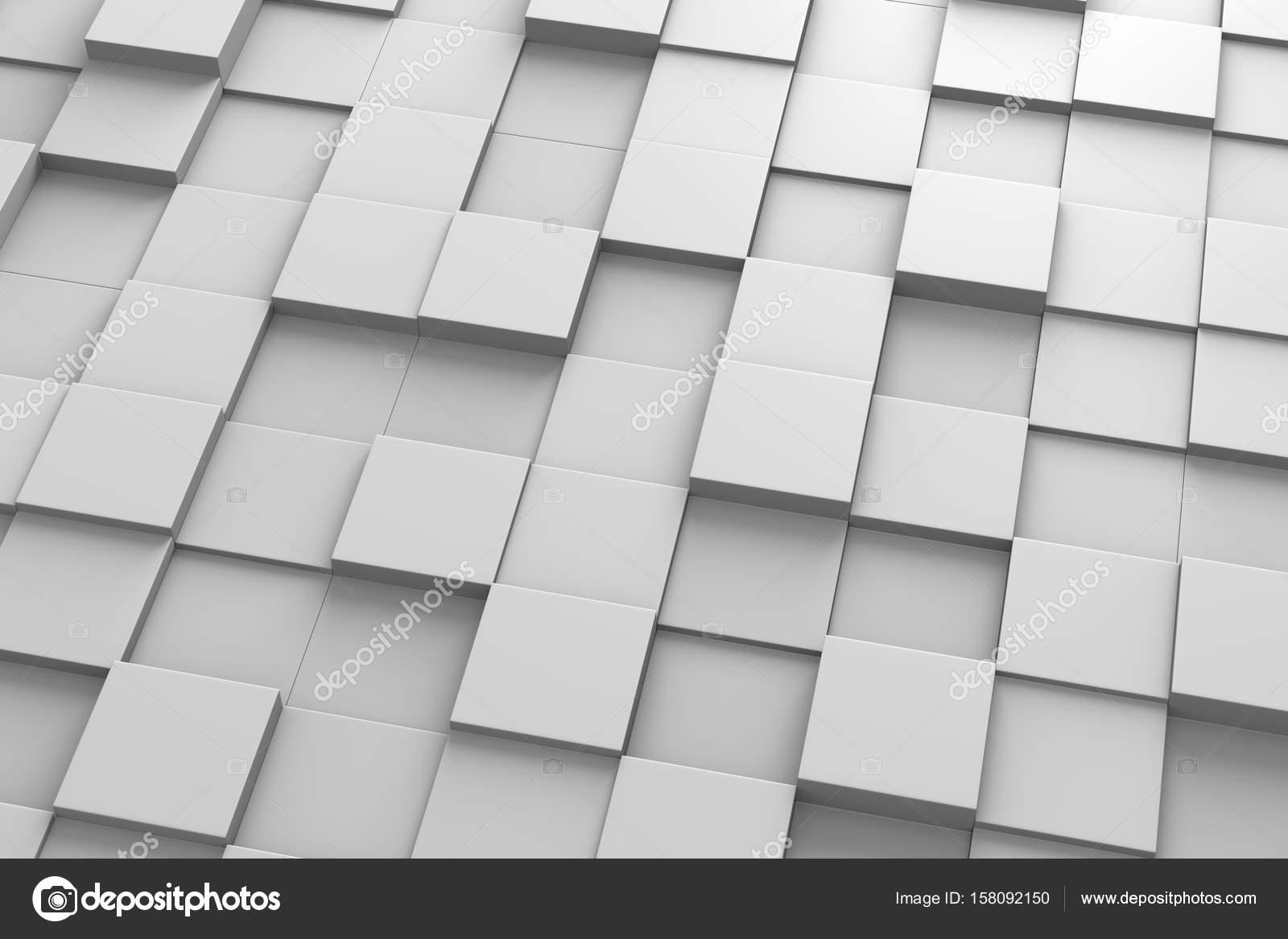 Quadratische Fliesen 3D Muster — Stockfoto © mrgao