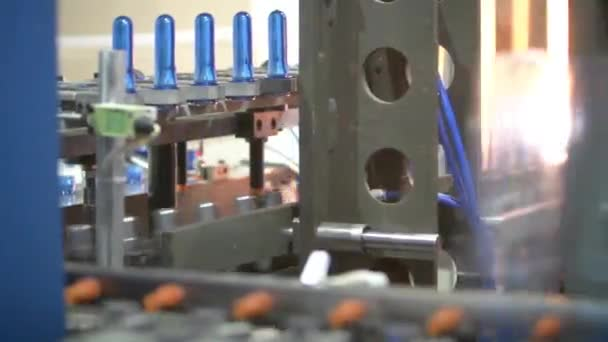 62e57c18ce Bottle Factory Industrial Machine Tool Production — Stock Video ...