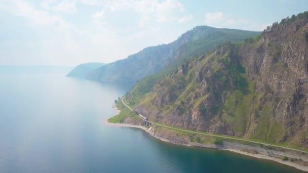 ProRes. Ročník, Historický parní vlak prochází pohoří podél pobřeží