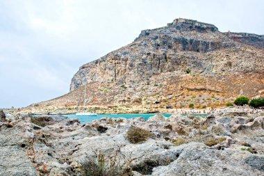 Splendida isola di Gramvousa, mare azzurro cristallino - Grecia