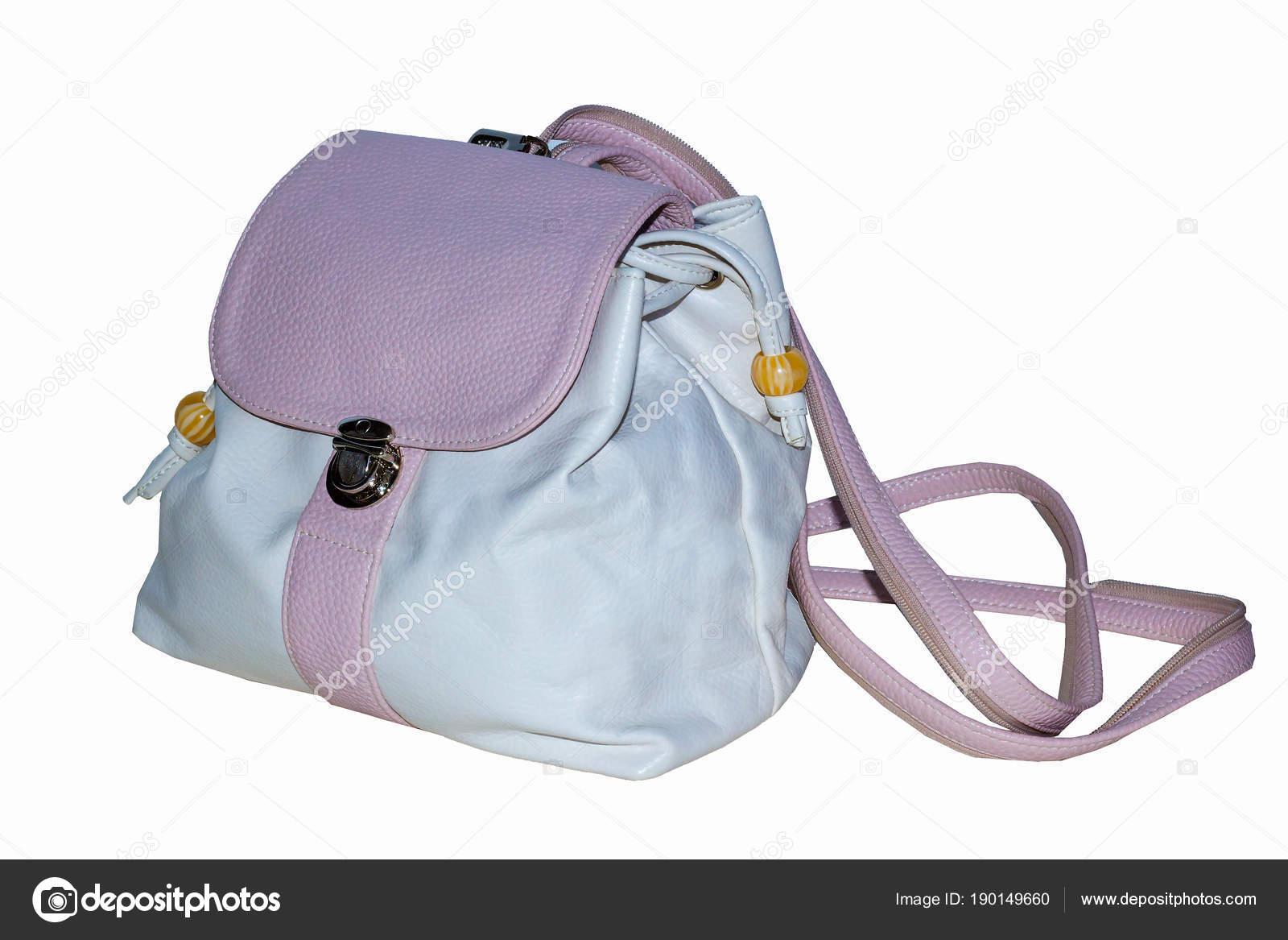 b9e0911653 Γυναικείο σακίδιο πλάτης σε απαλό ροζ χρώμα με λουράκια και καπάκι που  κλειδώνει — Εικόνα από tervolina88 mail.ru