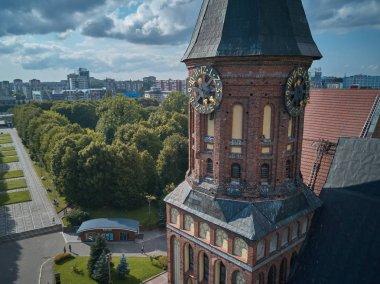 Konigsberg Cathedral. Kaliningrad, formerly Koenigsberg, Russia