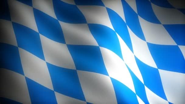 Flagge von Bayern (nahtlos))