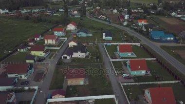 Letní letu nad krásné rakouské vesnice v Rusku 2