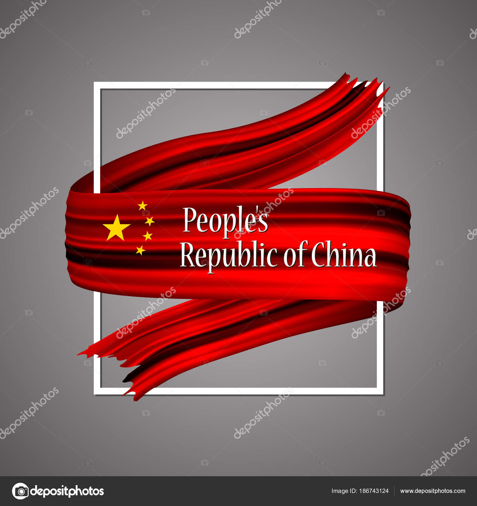 People's Republic of China flag  Official national colors