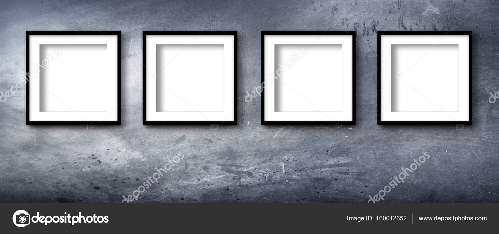 marco moderno de cuatro — Fotos de Stock © Photobeps #160012652