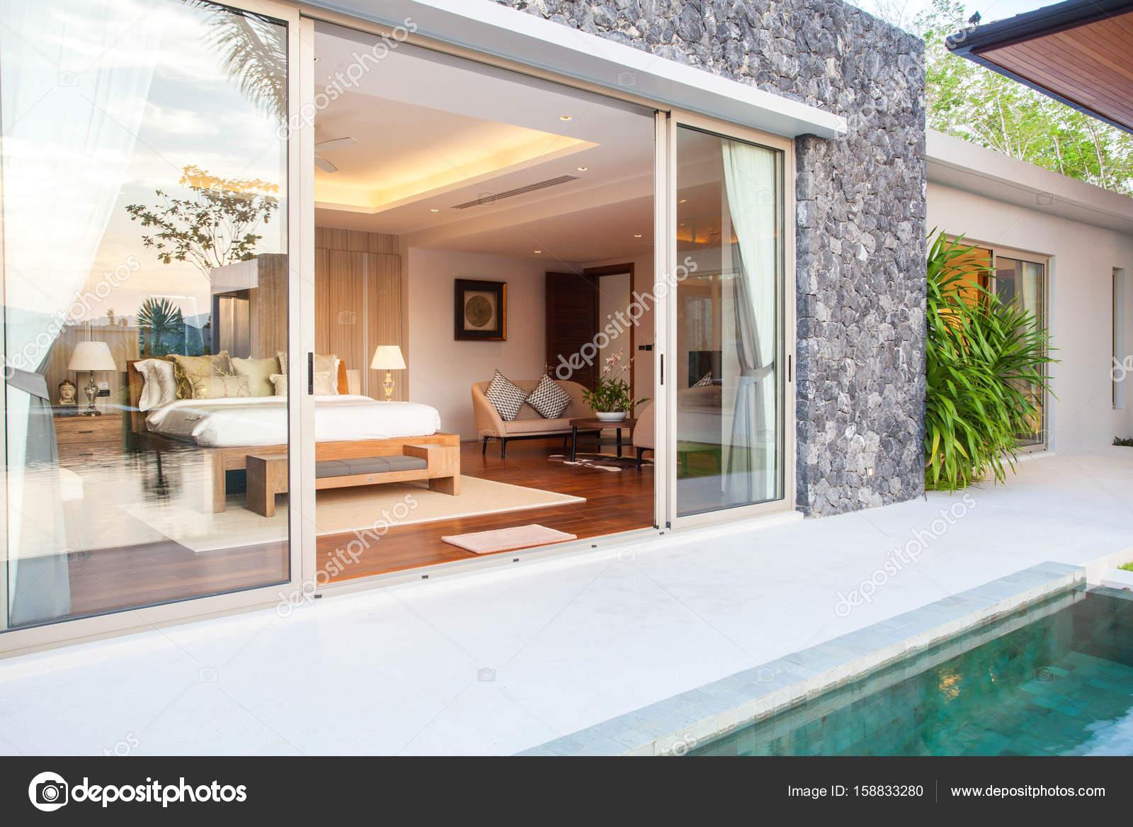 Interieur en exterieur design en decoratie van het huis