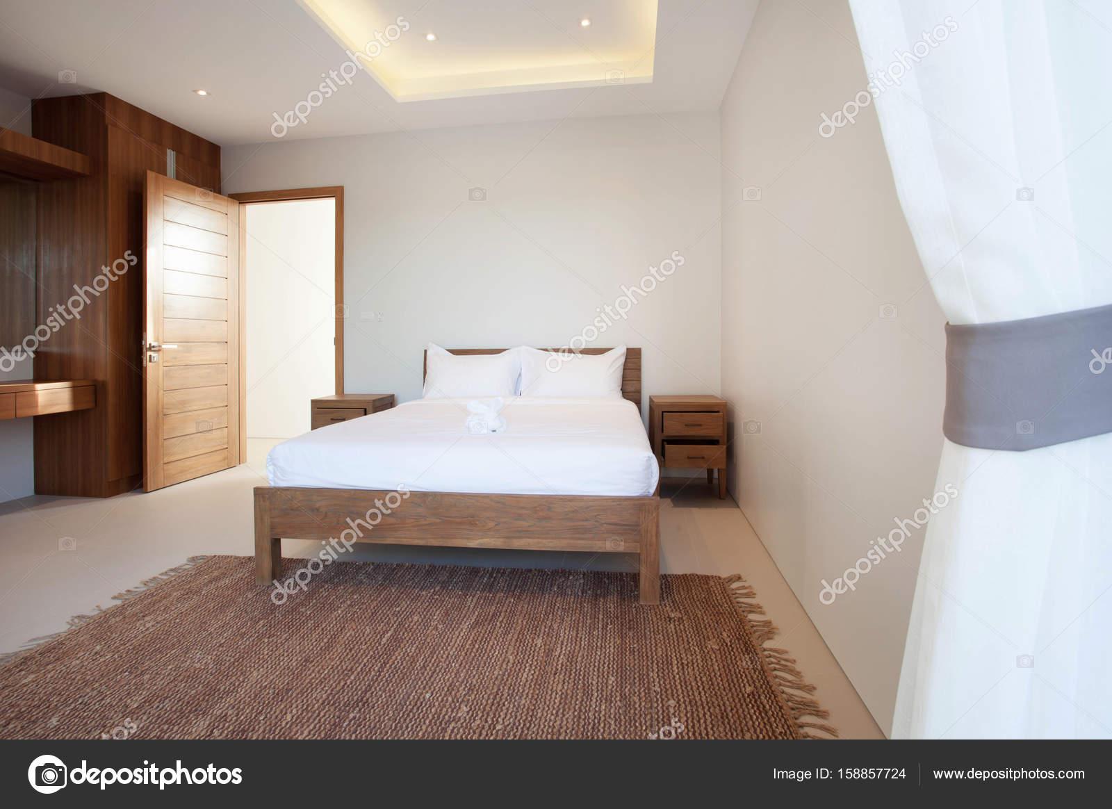 Luxus-Interieur-design im Schlafzimmer Pool Villa mit gemütlichen ...