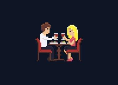 Pixel Art Dinner