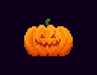 Pixel Halloween Lantern