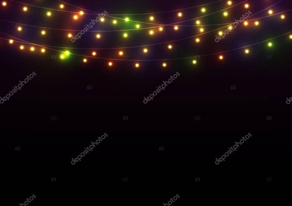 Bright Lights Background