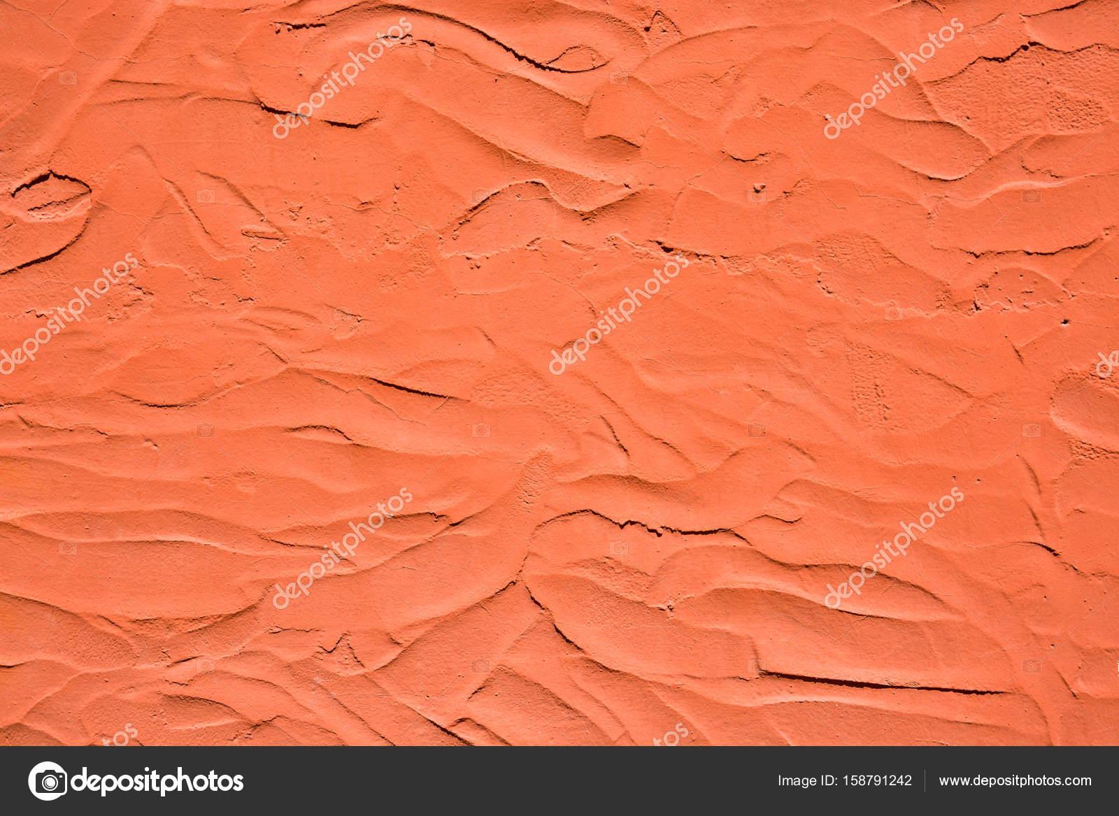 Pareti Colore Arancione : Struttura della parete dellintonaco colore arancione u2014 foto stock