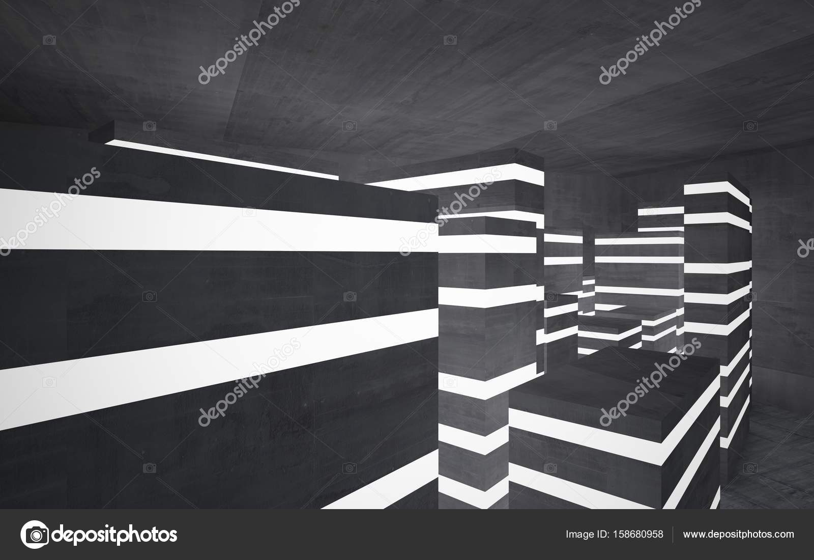 Abstract background in the form of high-rise buildings — Stock Photo