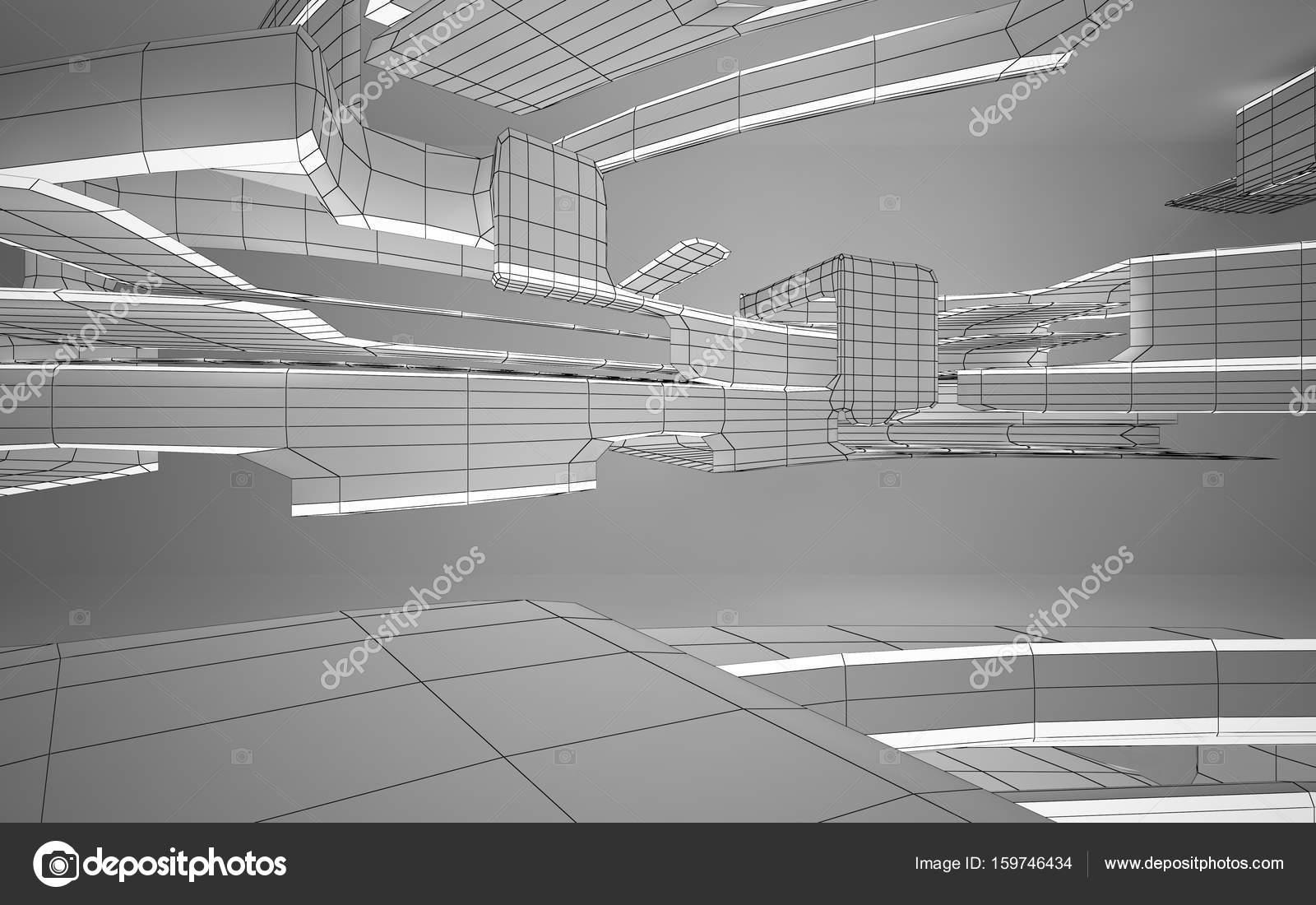 Beton In Interieur : Béton intérieur abstrait u2014 photographie sergeymansurov © #159746434
