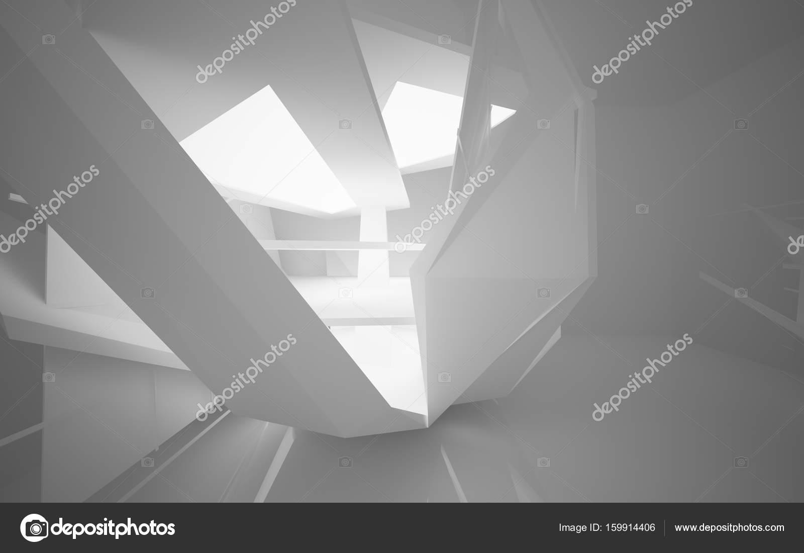 Interieur der zukunft mit neon beleuchtung u2014 stockfoto