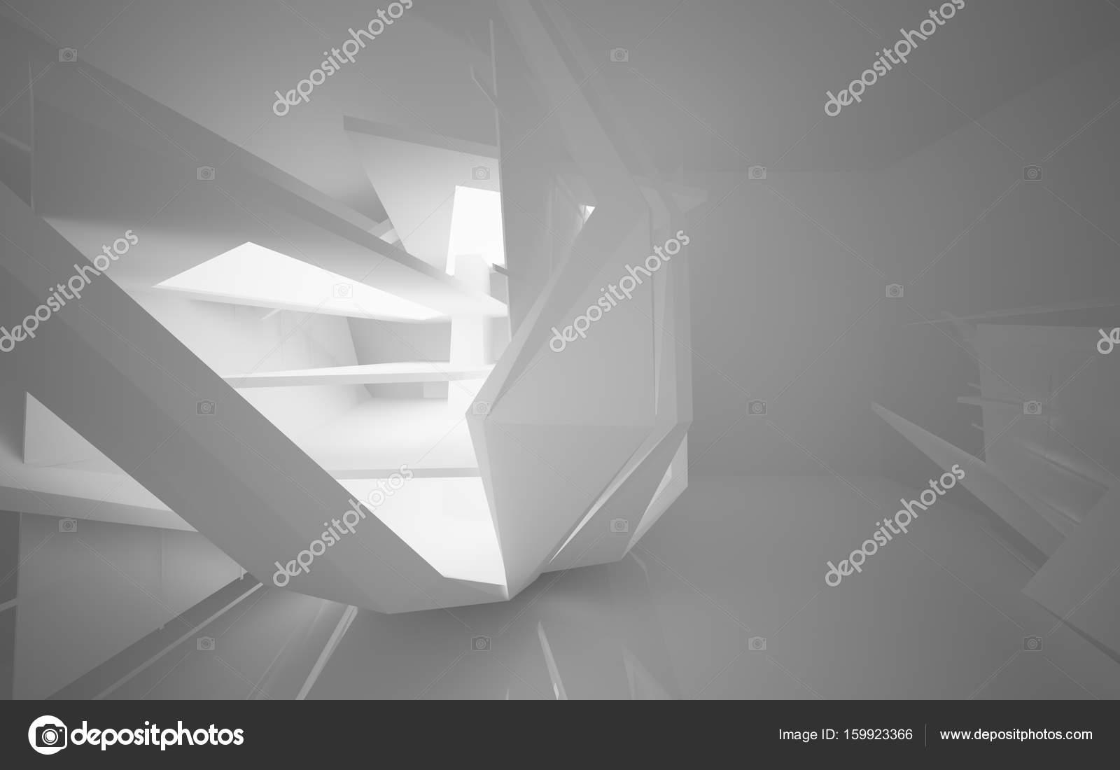 Interieur der Zukunft mit Neon-Beleuchtung — Stockfoto ...