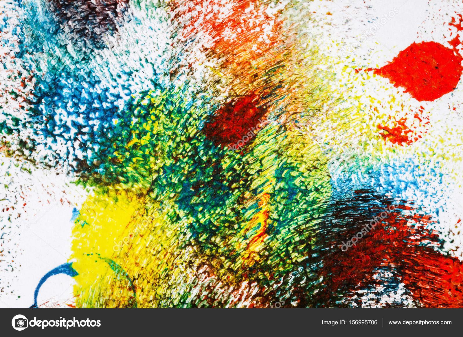 Fondo abstracto acrílico vibrante — Fotos de Stock © Taigi #156995706