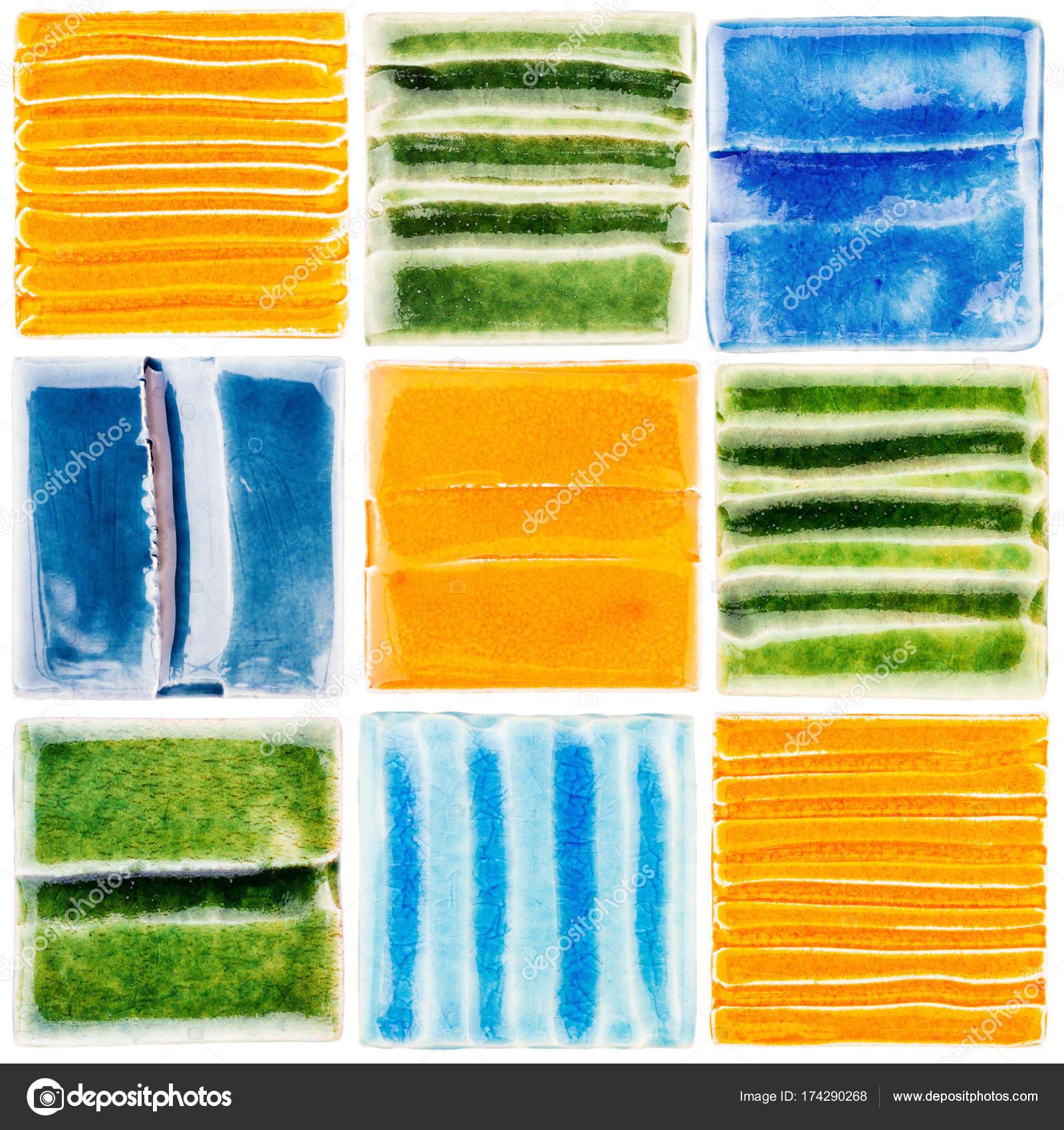 Collection of handmade glazed ceramic tiles stock photo taigi collection of handmade glazed ceramic tiles stock photo 174290268 dailygadgetfo Gallery