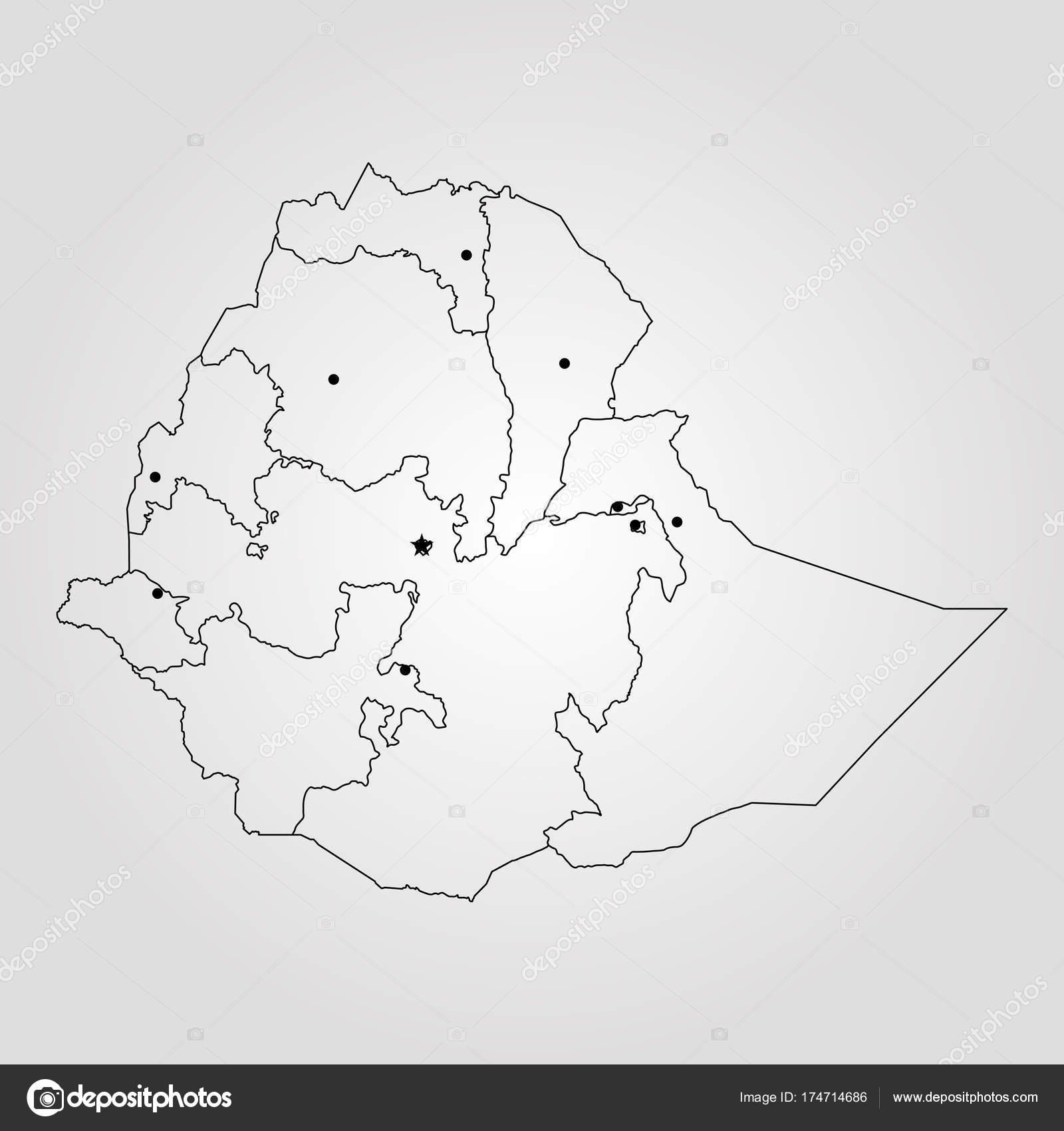 Map of ethiopia stock vector uglegorets 174714686 map of ethiopia vector illustration world map vector by uglegorets gumiabroncs Choice Image