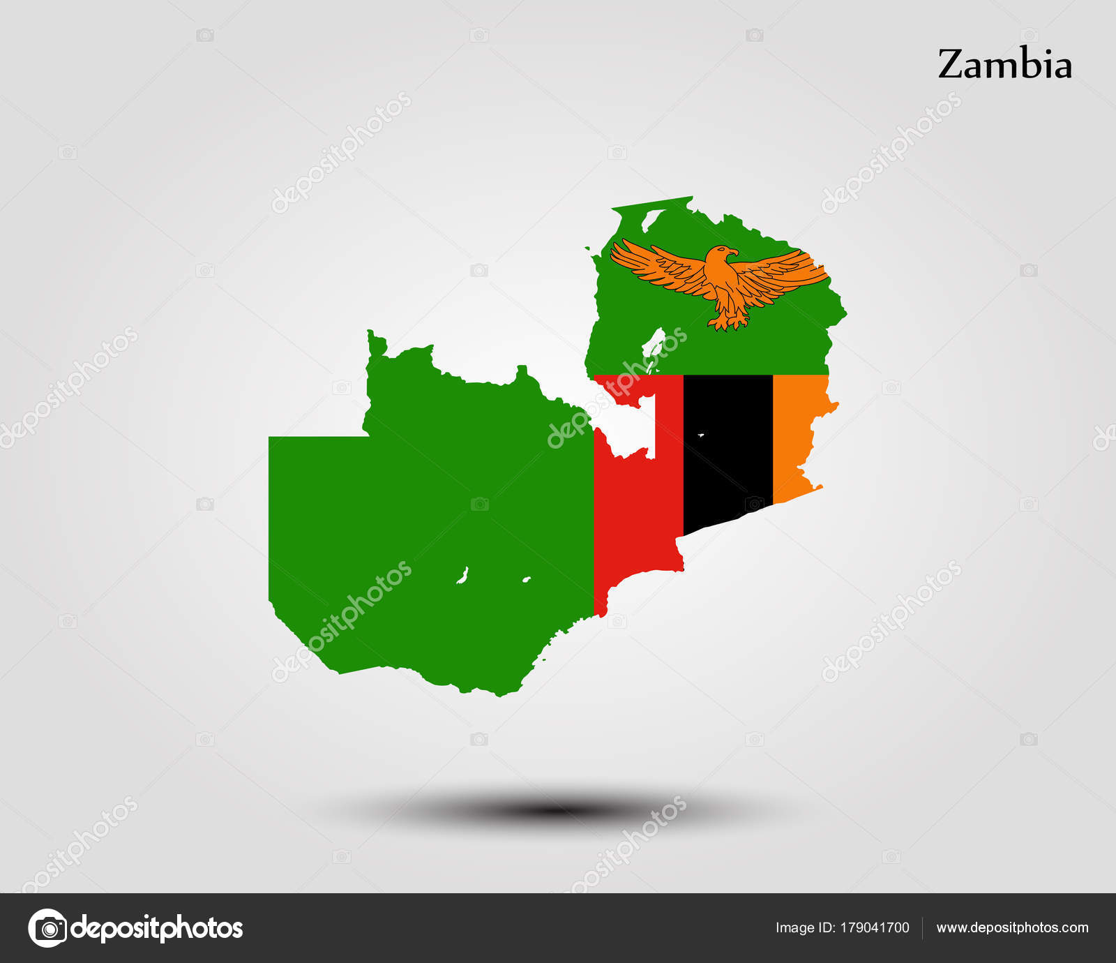 Map of zambia stock vector uglegorets 179041700 map of zambia vector illustration world map vector by uglegorets gumiabroncs Gallery