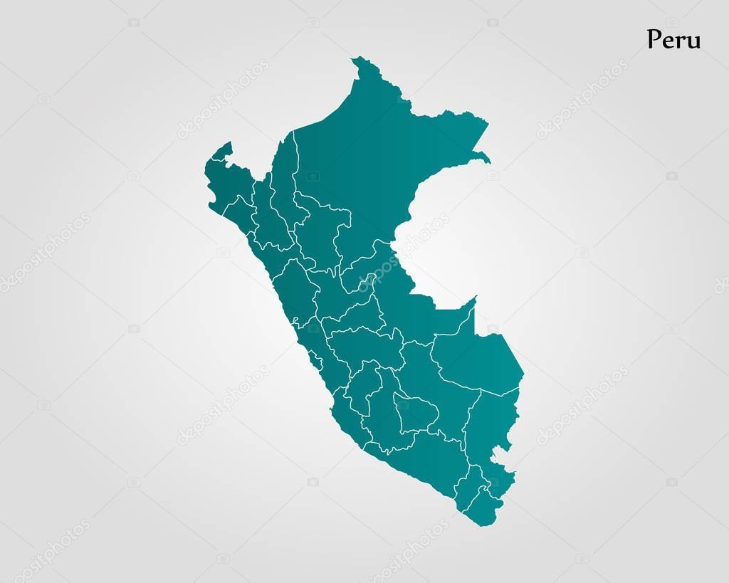 Map Of Peru Vector Illustration World Map Premium Vector In Adobe Illustrator Ai Ai Format Encapsulated Postscript Eps Eps Format