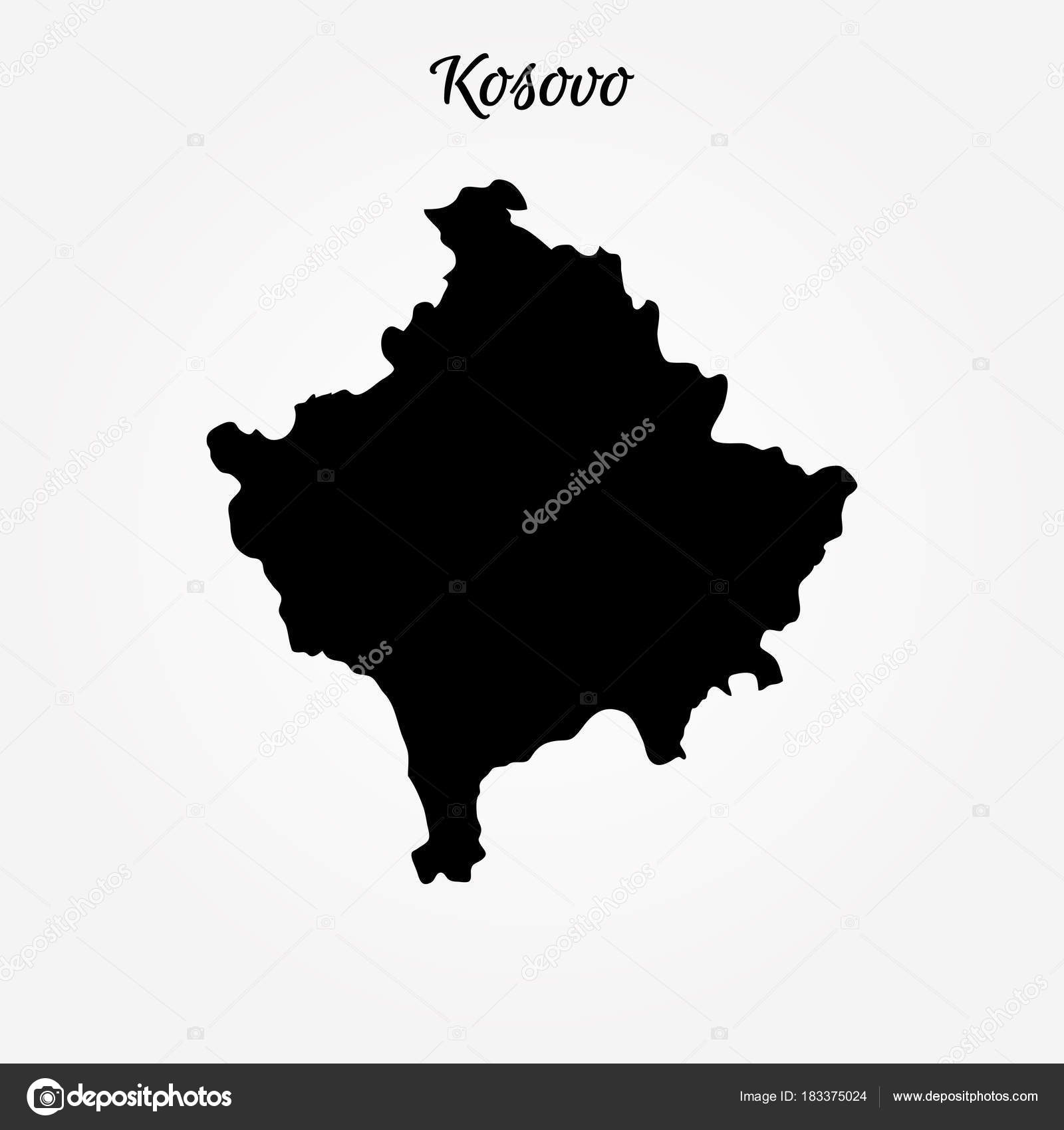Map of kosovo stock vector uglegorets 183375024 map of kosovo vector illustration world map vector by uglegorets gumiabroncs Images