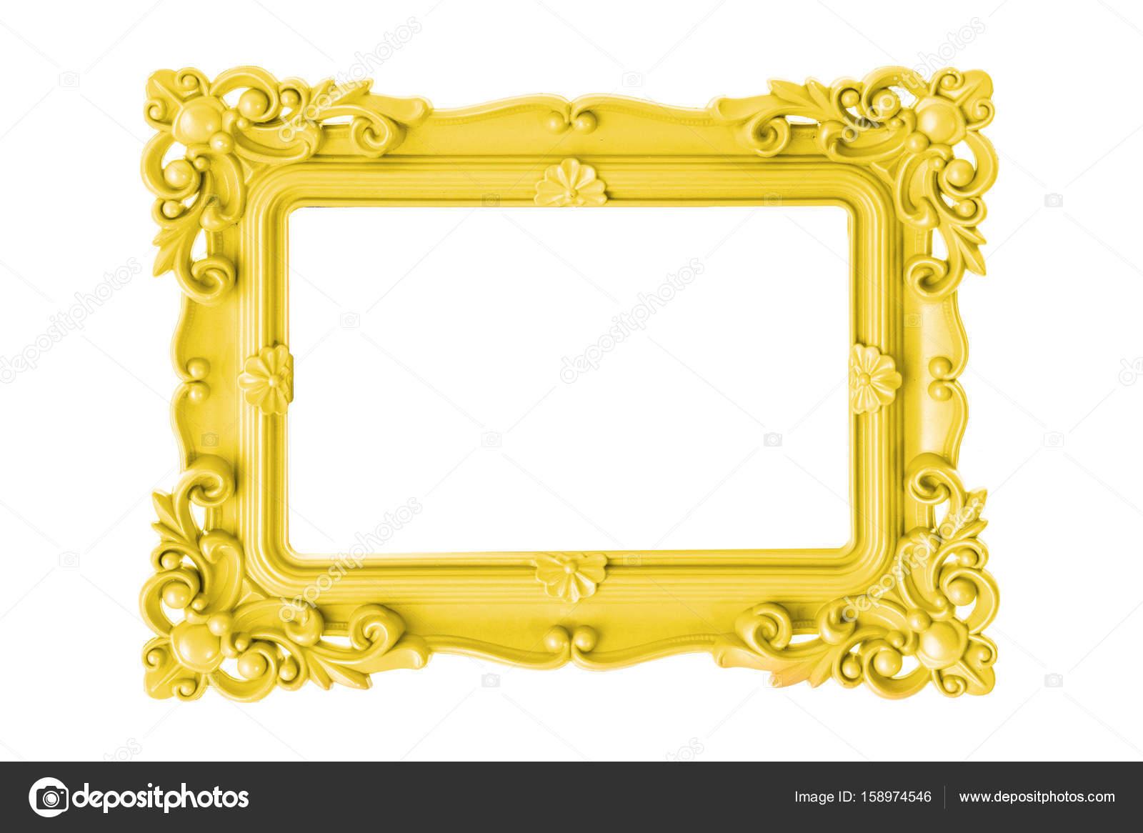 Gelbe Bilderrahmen — Stockfoto © anthonypaz #158974546