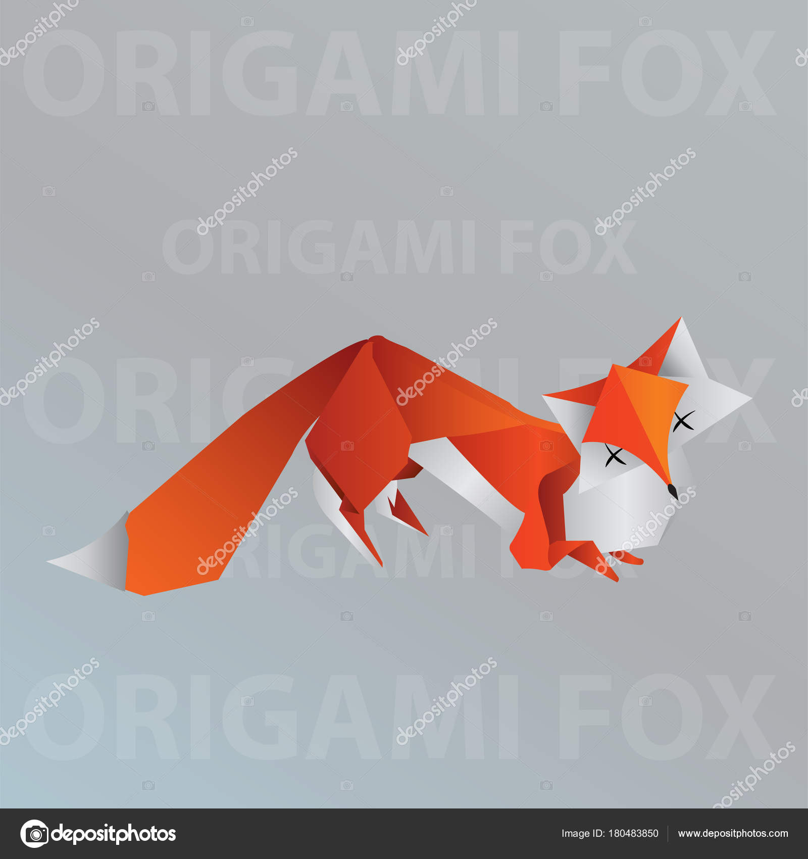 Origami Fox Step-By-Step Instructions Teaching Resource | Teach ... | 1700x1600