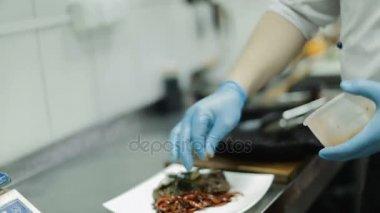 Prepared Meat Steak With Vegetables