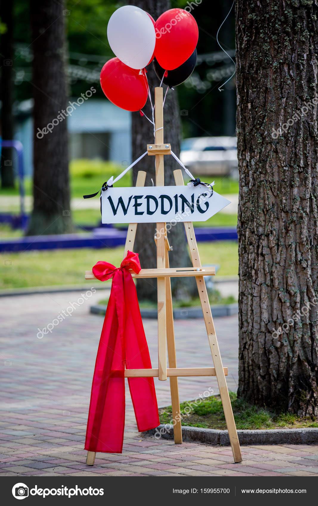 Decorazioni Di Nozze Targa Di Legno Con La Scritta Wedding