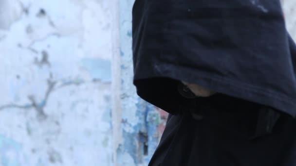 Maskované tajemná osoba