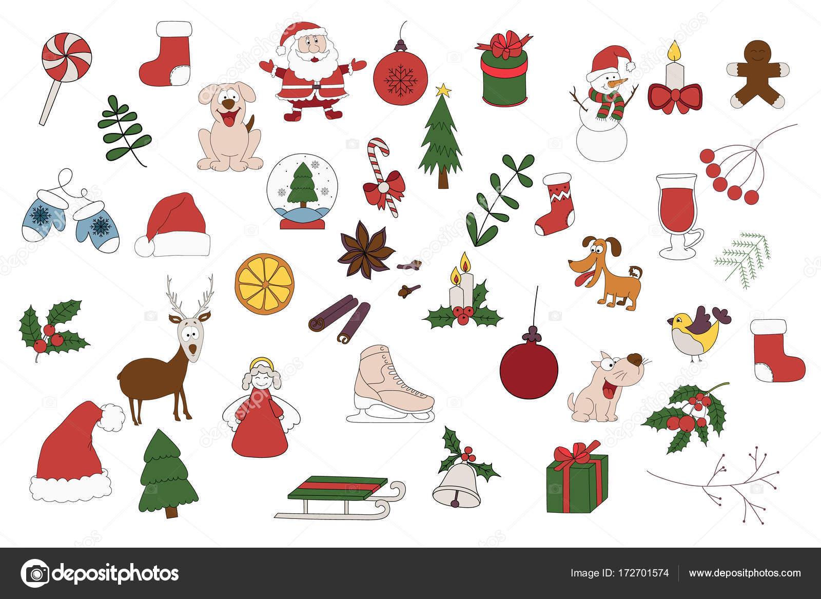 Frohe Weihnachten Aufkleber.Frohe Weihnachten Abzeichen Patches Aufkleber Eine Reihe Von