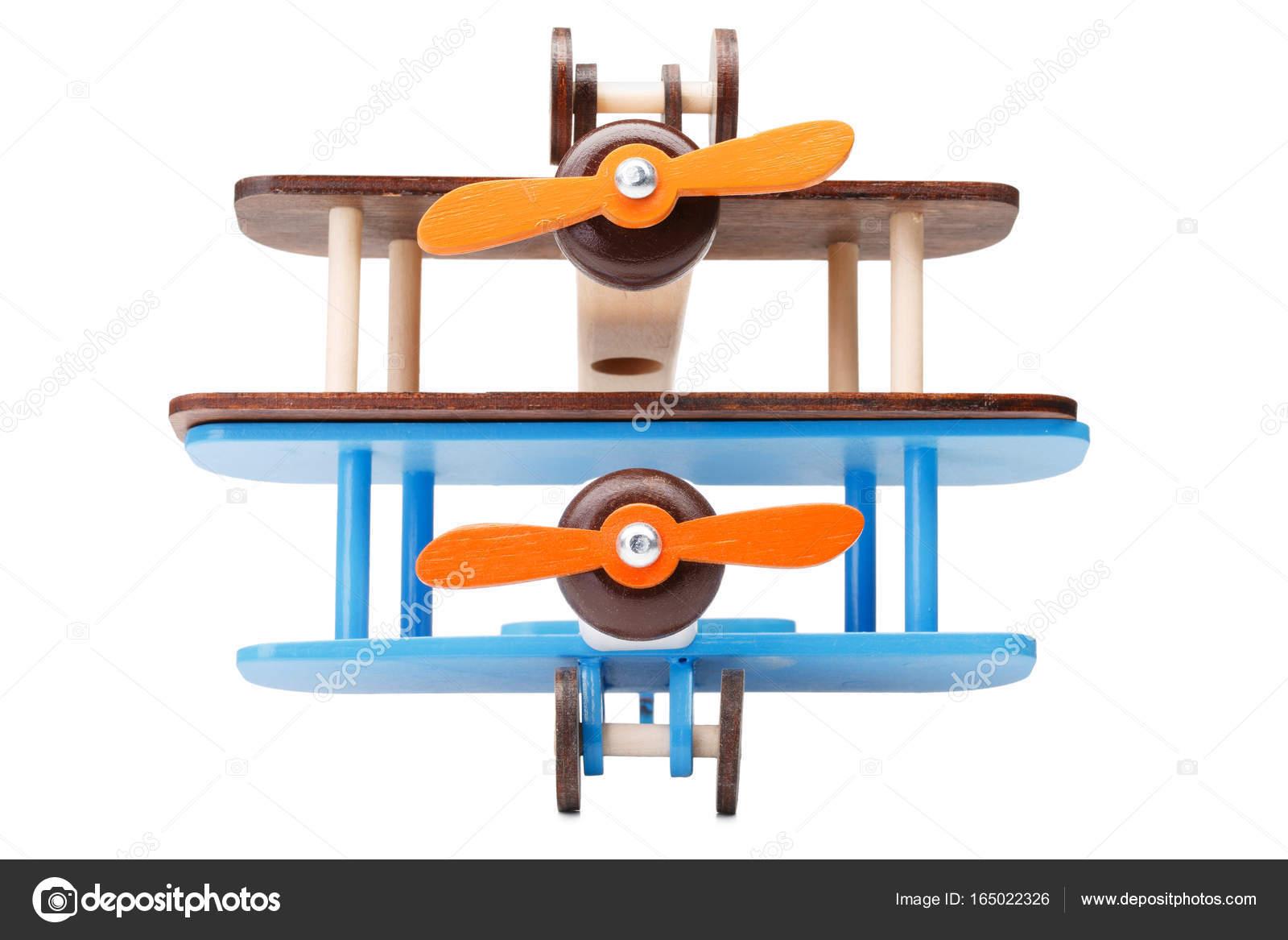 Primer Plano De Dos Aviones Coloridos Respetuoso Del Medio Ambiente