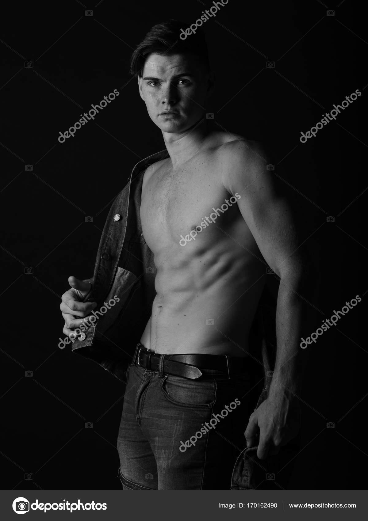 Sexy Körper eines Mannes