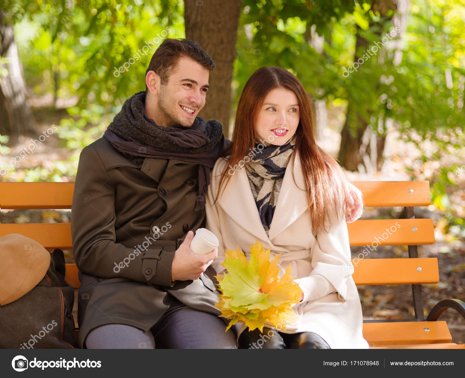 Girl Sitting On A Guy
