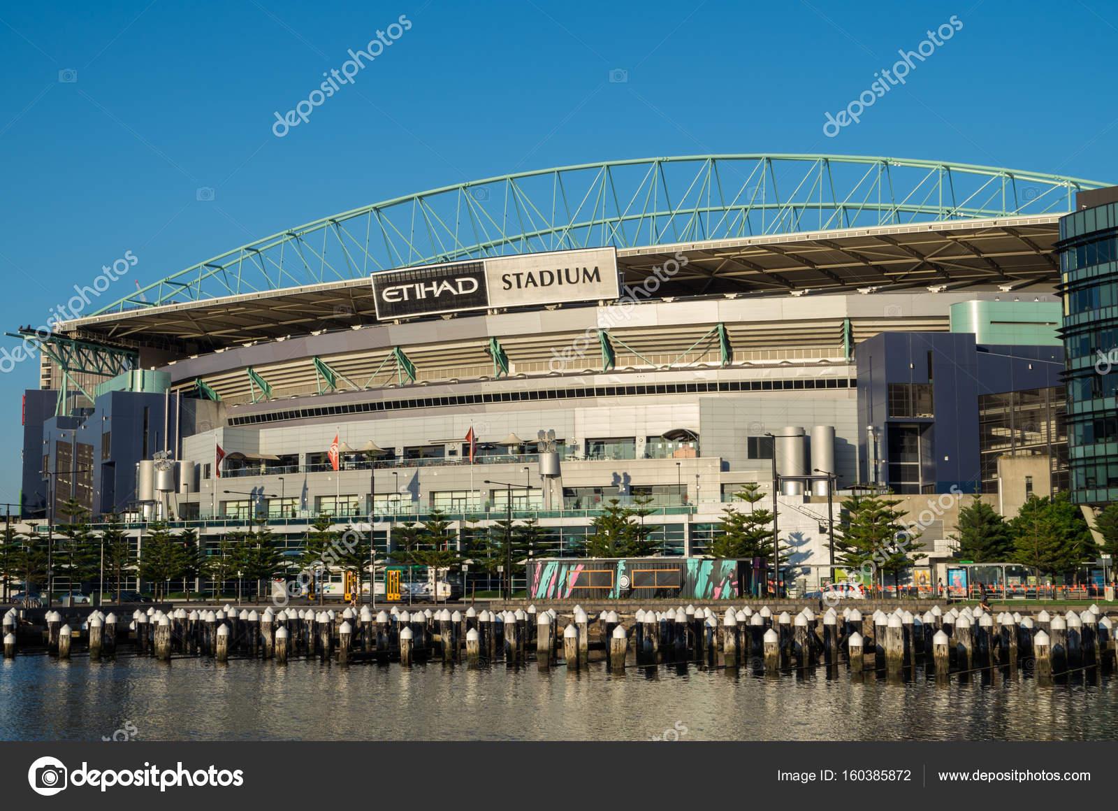 Etihad Stadium in Melbourne Docklands – Stock Editorial Photo ©  nilsversemann #160385872