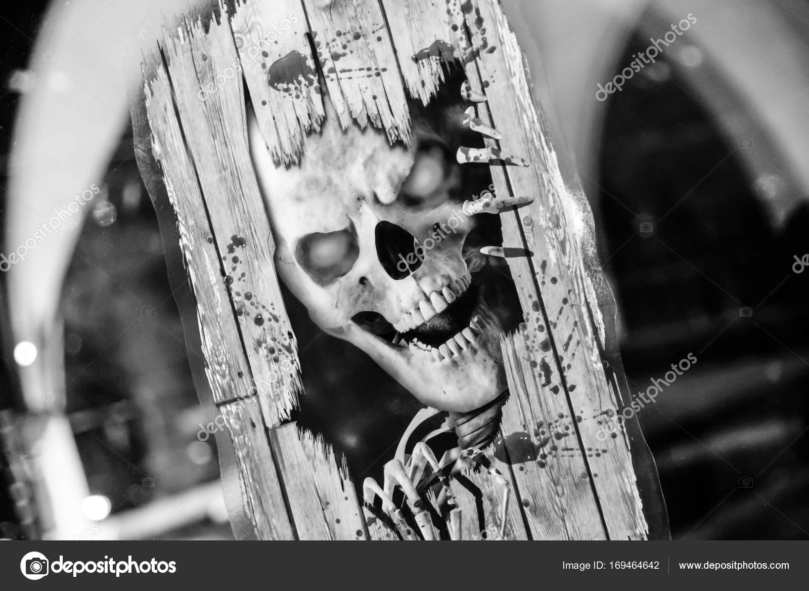 Wallpapers Scary Skulls Horror Scary Skull In Abstract
