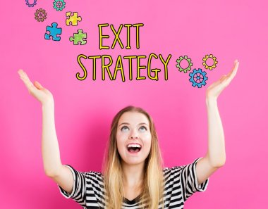 Exit Strategy concept