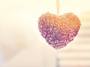 Hanging decorative heart