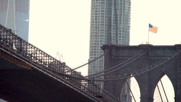 Bach-Brücke über den East River in ny