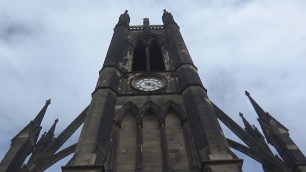 cathedral tower and clock