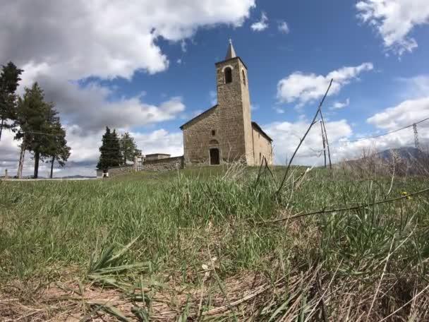 Medieval church of Santa Maria delle Scalelle, Roccafluvione, Italy