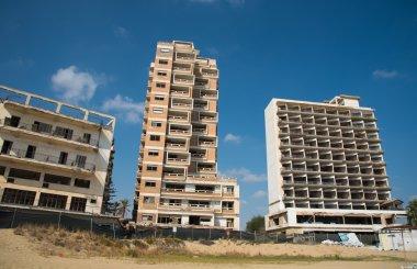 Abandoned hotels Famagusta Cyprus